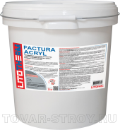 LITOTHERM Factura Sil (1,5 мм) белый 25 кг